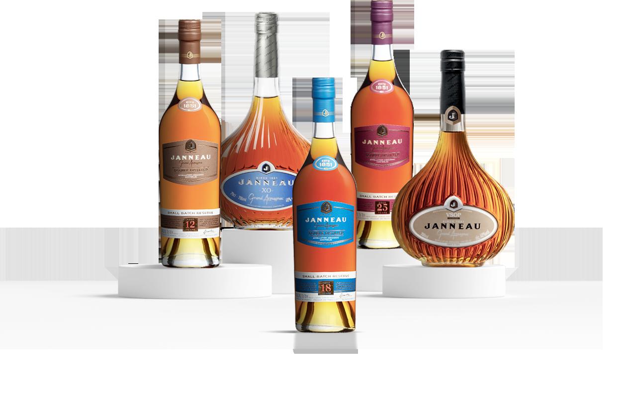 Janneau Armagnac Bouteille Premium
