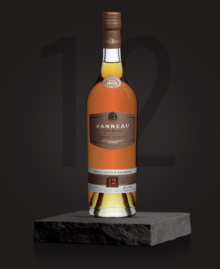 12 ans single distillery janneau armagnac