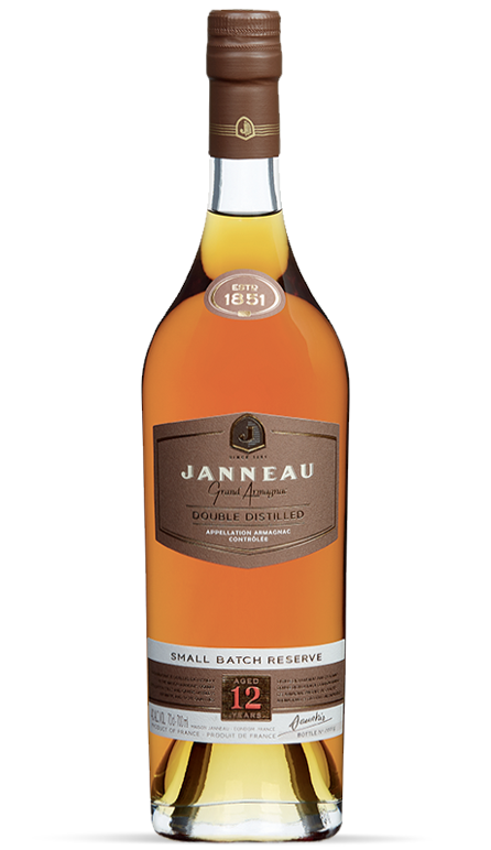 12 years single distillery armagnac janneau