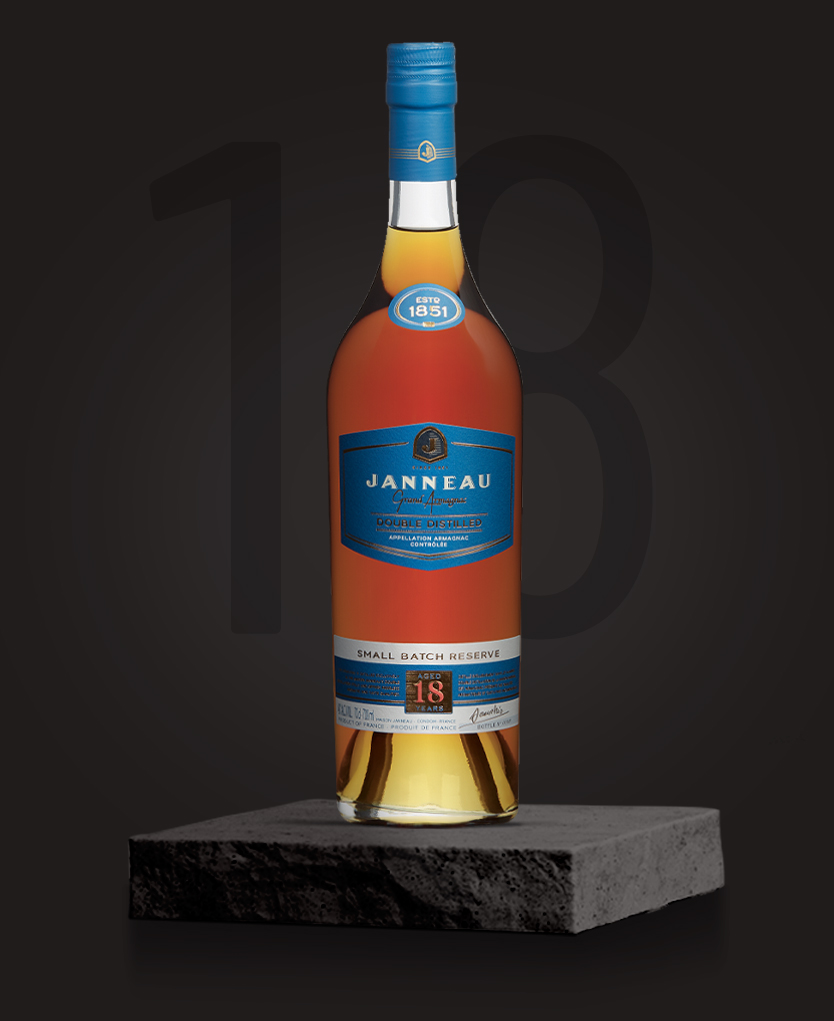 18 ans armagnac single distillery janneau