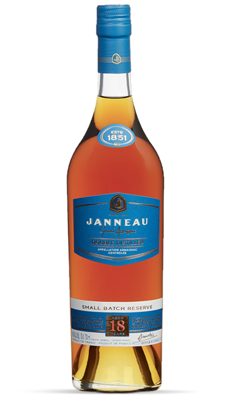 18 years single distillery armagnac janneau