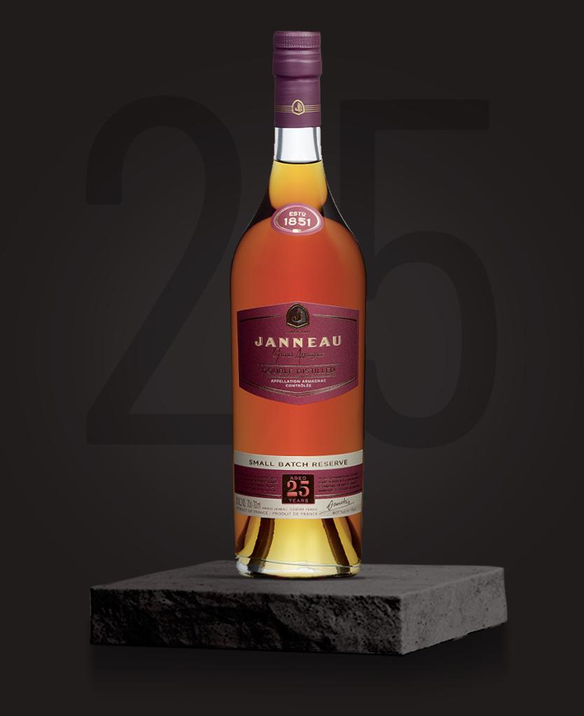 25 ans armagnac single distillery janneau